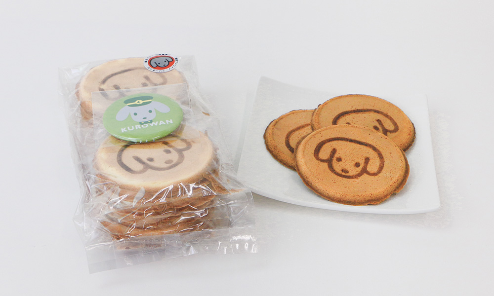 地域マスコットキャラクター せんべい(お菓子)